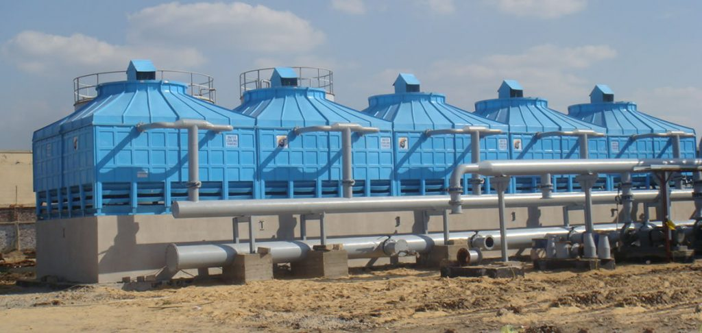 Frp Multi Cell Square Cooling Tower Manufacturers