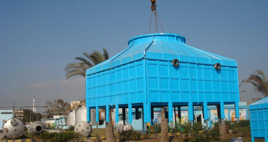 FRP Square Cooling Tower Manufacturers